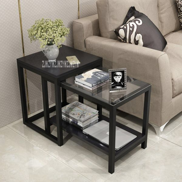 Us 48 00 998 Retracted Coffee Table Living Room Furniture Tea Table Balcony Side Table Bedroom S Living Table Glass Side Table Living Room Living Room Table