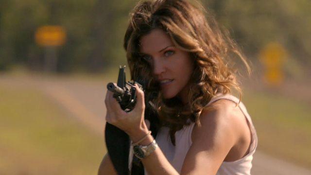 Tricia Helfer as Ranger Molly Parker in Killer Women