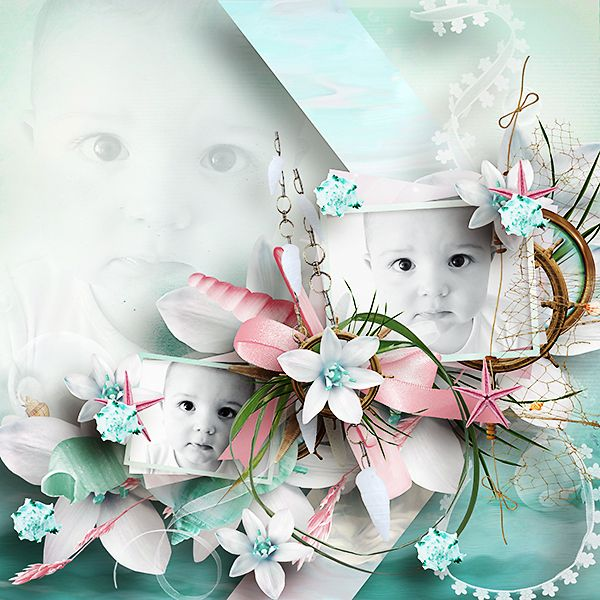 *** NEW ***  Mer d'Azur by Aurelie Scrap  http://www.myscrapartdigital.com/shop/index.php?main_page=product_info=24_66_id=2232  Picture by Mariska