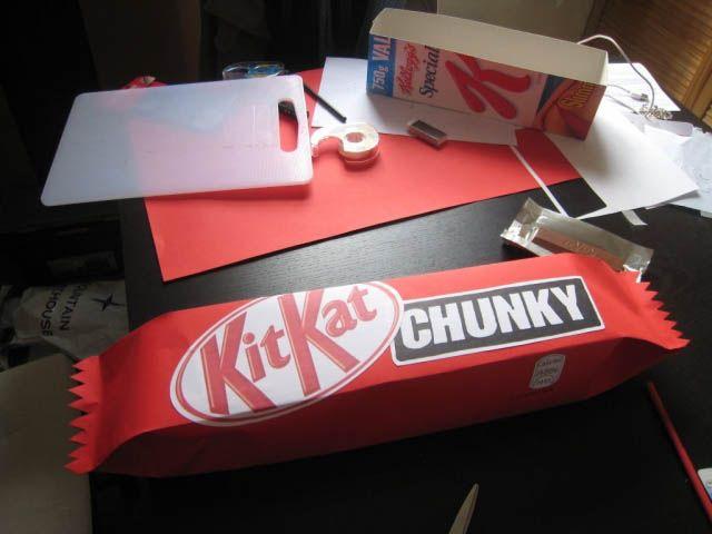 Jumbo Kit Kat make yourself