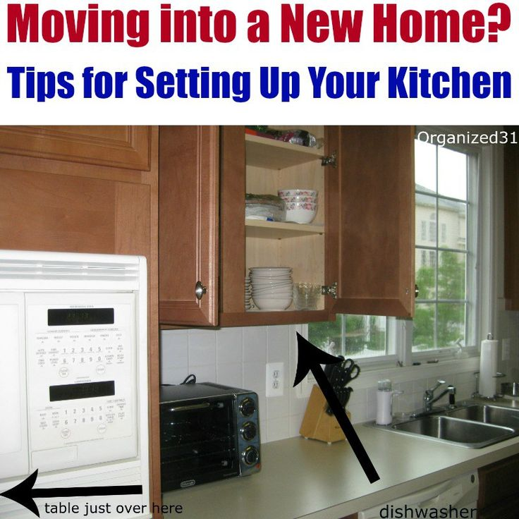 Kitchen Set Up: Moving Into A New Home & How To Set Up Your Kitchen