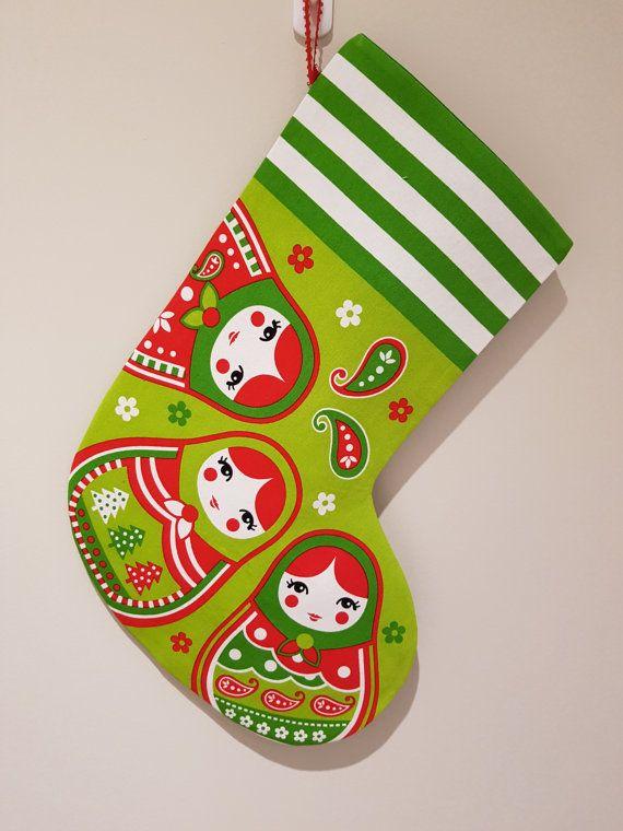 Check out this item in my Etsy shop https://www.etsy.com/au/listing/479610043/handmade-babushka-christmas-stocking