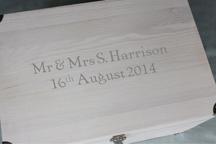 Girlie tuck box personalised in grey