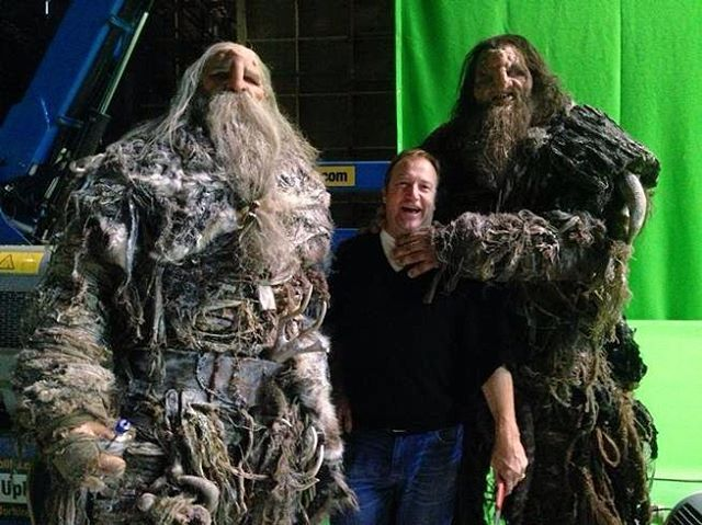 I wish I had some Giants to go to work with me tomorrow... Need some help with an unpleasant person  #GOTbehindthescenes   #gameofthrones #greenscreen #giants #behindthescenes #got #hbo #wildlings #jonsnow #onset #setlife #filmmaking #prosthetics #fxmakeup #specialeffects #housestark #valarmorghulis #westeros #juegodetronos #gotfandom #thronies #asongoficeandfire #gameofthronesfamily #asoiaf #nightswatch #winteriscoming #watchersonthewall