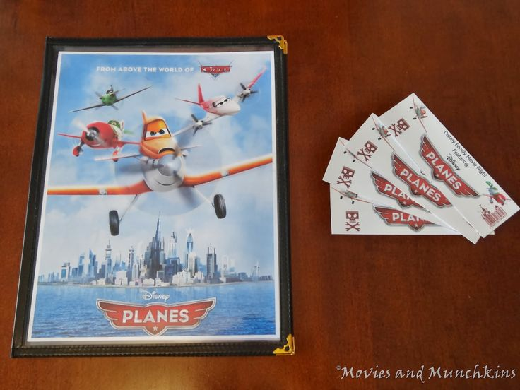 Movies & Munchkins: Planes Movie Night