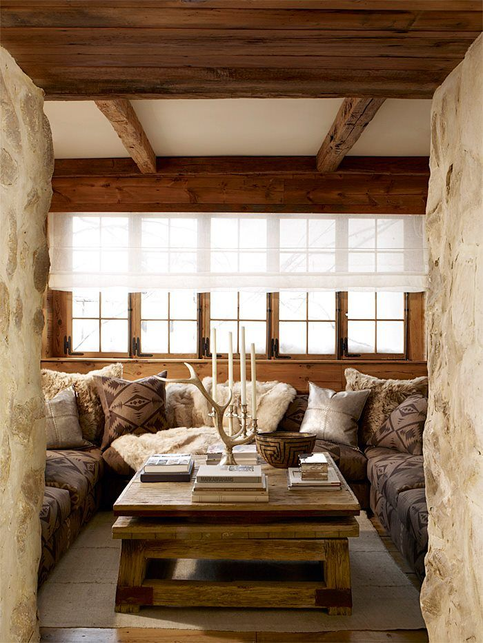 Best 25 chalet style ideas on pinterest ski chalet for Ski decorations for home