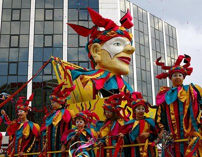 """""""Lemesos Carnival"""" (annual). One of the brightest annual events. Many cities and villages organize carnival events, but Limassol hosts the largest and most colorful one in Cyprus."""