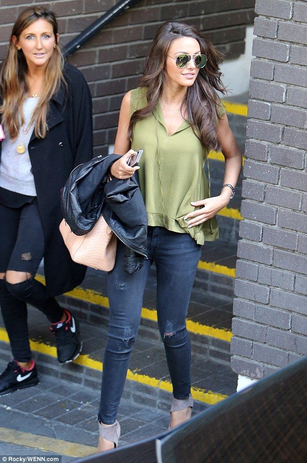 Michelle Keegan admits hen party left her with a 'three-day hangover' #dailymail