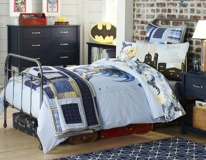 Amazing  Batman Theme Wall Decor For Your Kid's Bed room