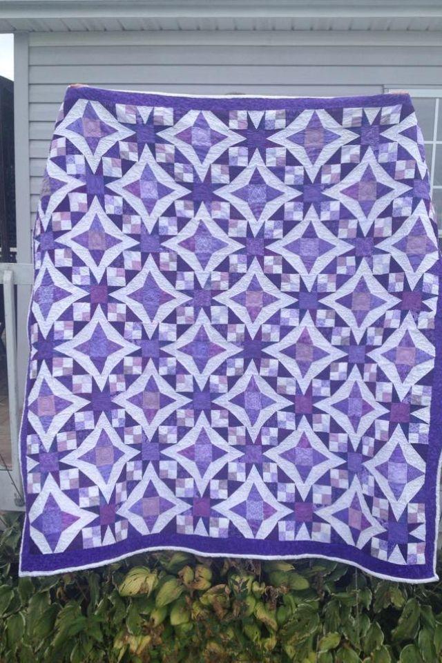 Celtic solstice in purples