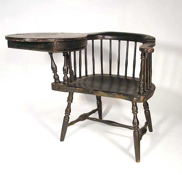 Antique Windsor Writing Chair   Chair Blog