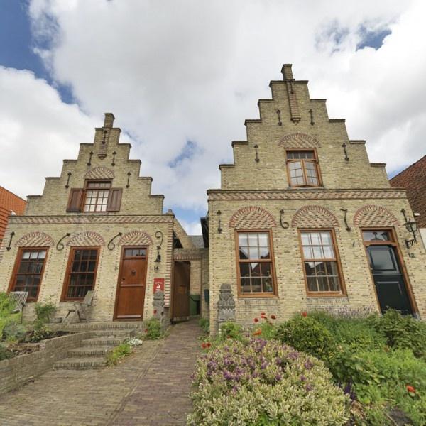 Commanders Homes on the island Terschelling (The Netherlands) / Commandeurswoningen op Terschelling
