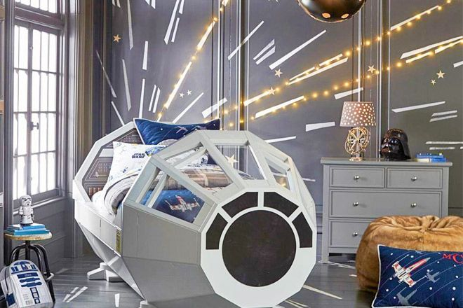 Holy Chewbacca! Check out this Star Wars Bed!   Mum's Grapevine