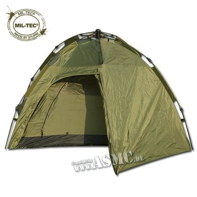 Two Man Pop-up Tent Double Skin olive
