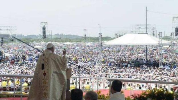 α JESUS NUESTRO SALVADOR Ω: HOMILIA DEL PAPA FRANCISCO EN QUITO ECUADOR. Herma...