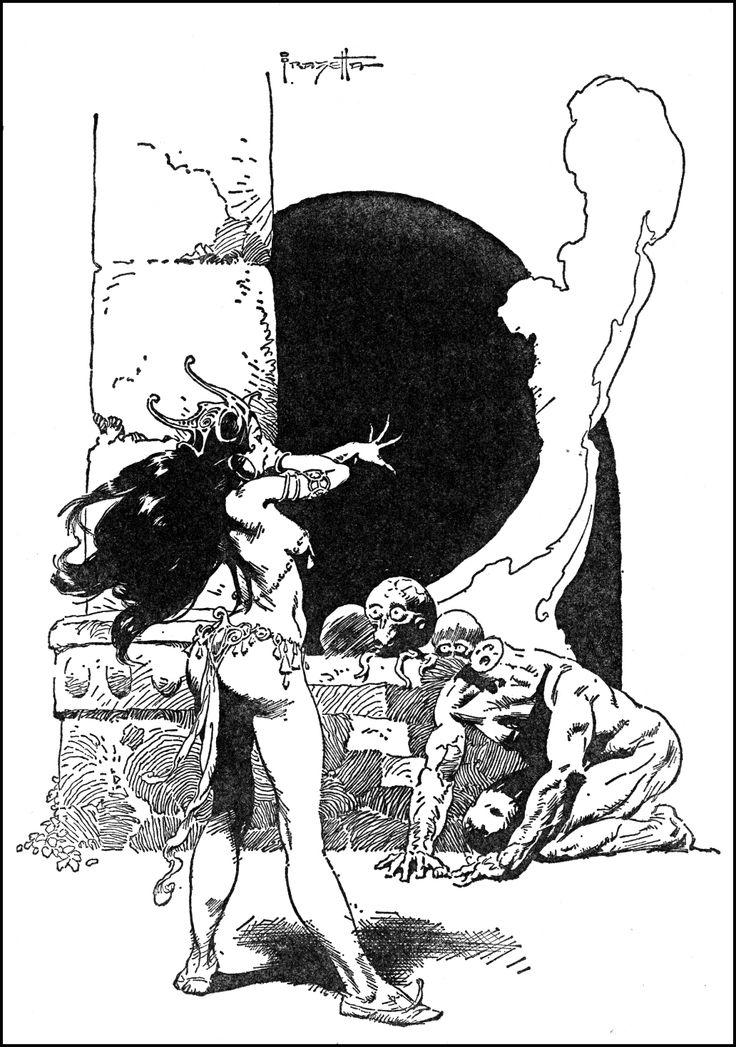 Conan the Adventurer by Robert E. Howard Ace Paperback #5 Frank Frazetta Cvr