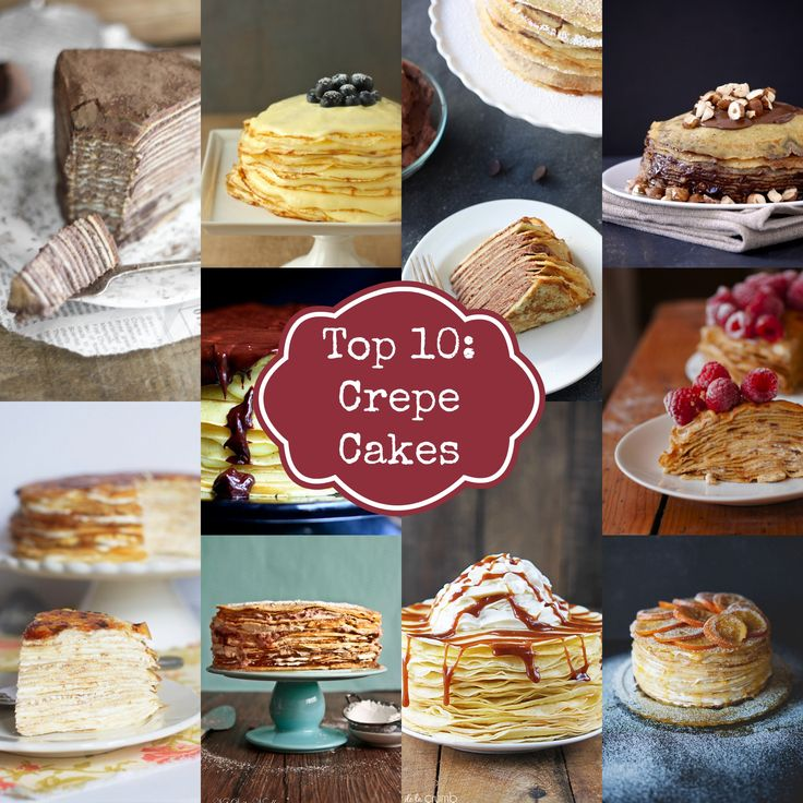 Top 10 Crepe Cakes