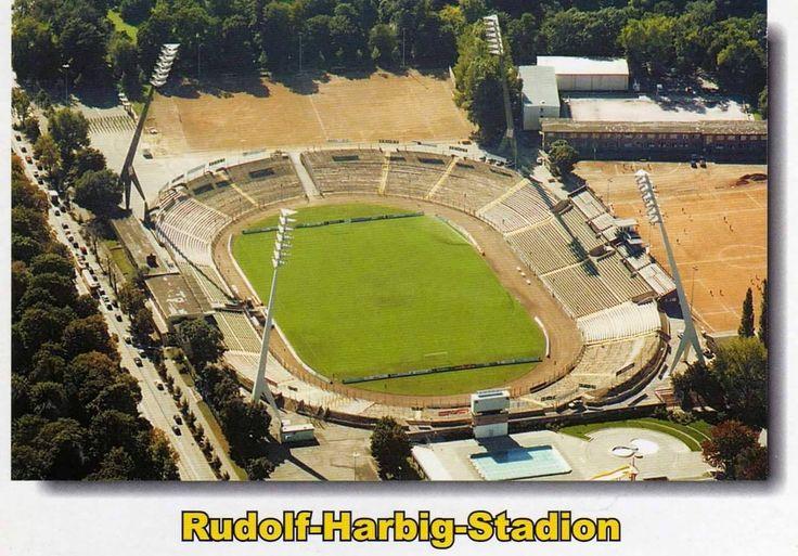Rudolf-Harbig-Stadion in the 90's, SG Dynamo Dresden
