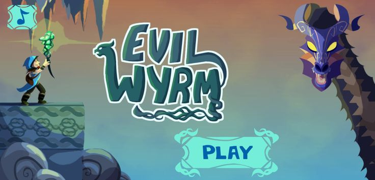 [Evil Wyrm] Save the word from the Evil Wyrm, an ancient fire-drake. Move carefully through each stage, find the gem and get to the exit before the badass fire-spitting Wyrm can destroy you. Have fun!