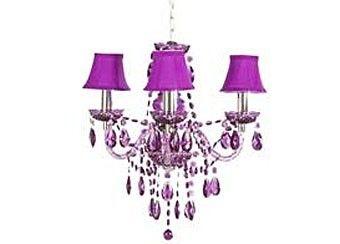 Small Purple Glass Lamp | purple chandelier lighting at Target