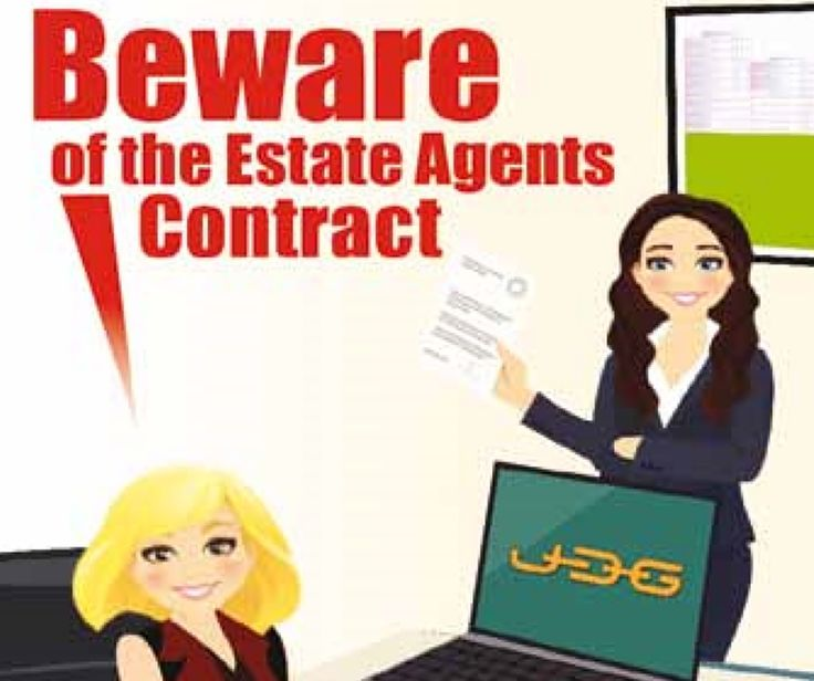 how to get out of real estate agent contract