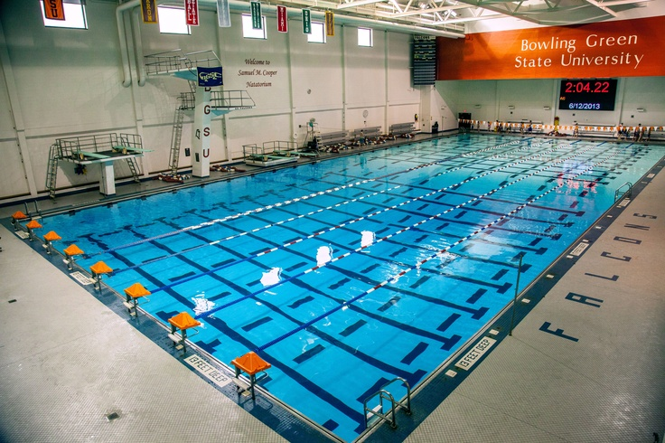 Take a swim in our olympic size pool!