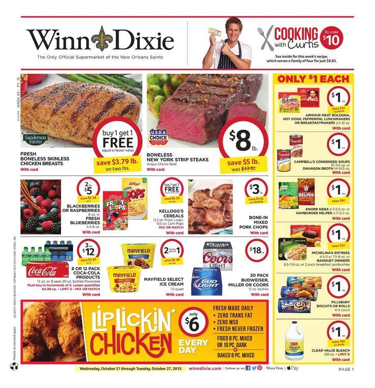 Best 25 Winn dixie weekly ad ideas on Pinterest Winn dixie