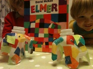 Milk Bottle Elmer