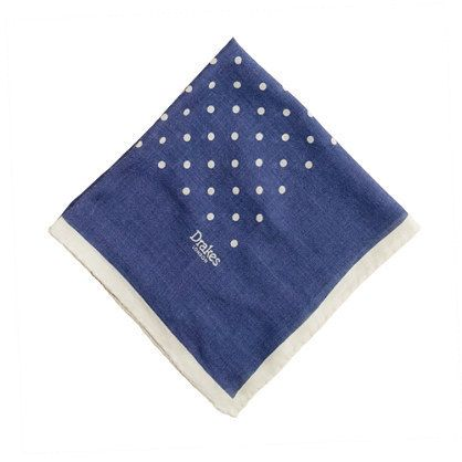 pocket square by Drake's of London.
