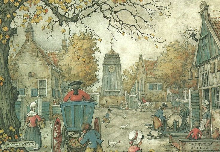Anton Pieck Overveen