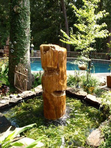 49 best images about disappearing fountains on pinterest for Small pond fountains
