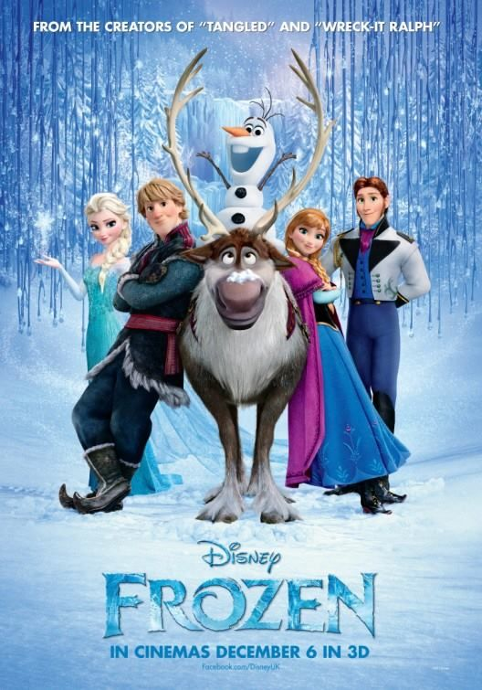 Frozen -- I am so excited for this movie! I am trying to figure out all the little plot hints from the trailers.