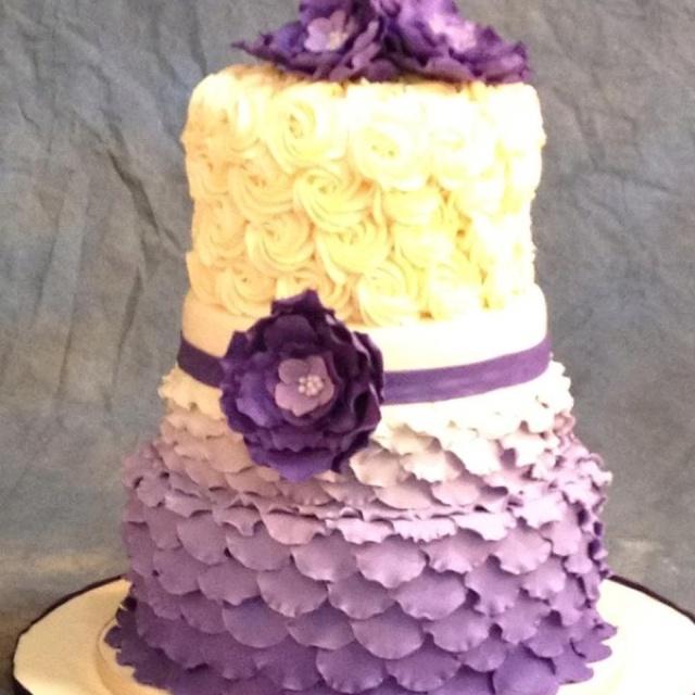 7 best Wedding Cakes images on Pinterest | Cake wedding, Piece of ...