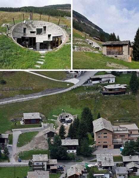 underground home (Swiss Mountains)