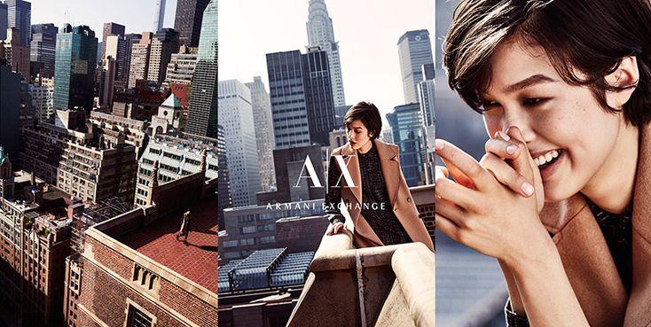 Armani Exchange Fall 2015 Ad Campaign