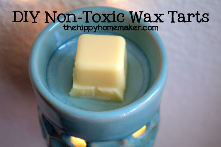 What's in Your Scentsy Wax Melts? DIY Non-Toxic Wax Tarts - thehippyhomemaker.com