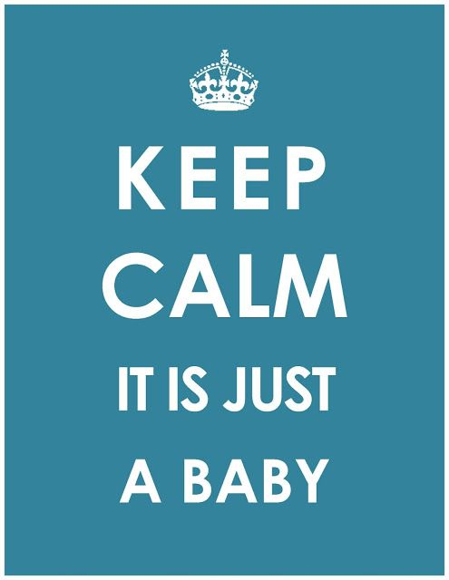 daughter :: daughter: keep calm :: baby poster