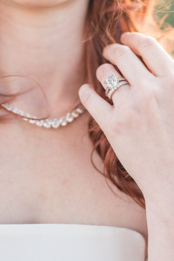 Elegant conflict-free diamond ring from Ada Diamonds: http://www.stylemepretty.com/2016/12/01/3-ways-to-rock-a-conflict-free-diamond-on-your-big-day/ #sponsored