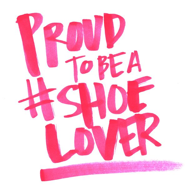 Proud to be a #shoelover! #dsw #quote
