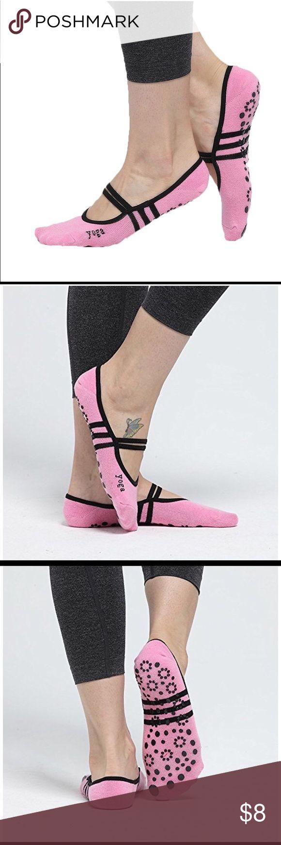 Non- slip women yoga socks Perfect for yoga, Pilates and ballet. 💯 cotton Accessories Hosiery & Socks