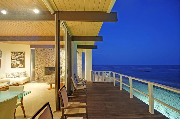 malibu beach houses | Mid Century Modern Beach House For Sale On Malibu Road
