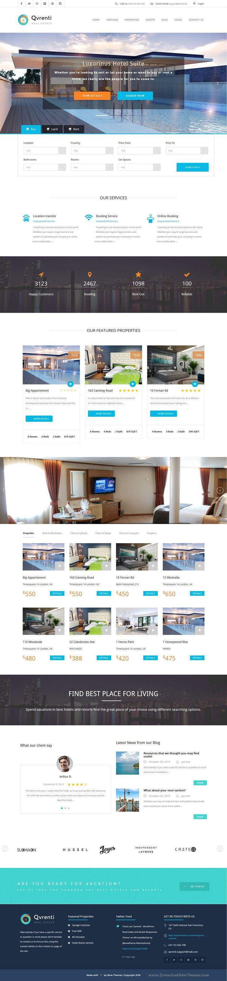 Best 25+ Real estate website templates ideas on Pinterest   Real ...
