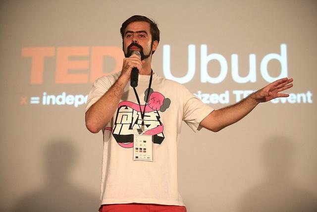Amazing talk by our new friend John Berkavitch at TEDxUbud