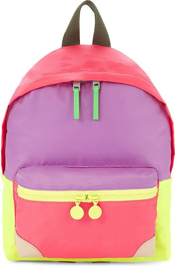 STELLA MCCARTNEY Small multicoloured backpack