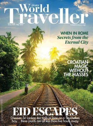 My interview in World Traveller Magazine  - May 2017 www.janitahelova.com