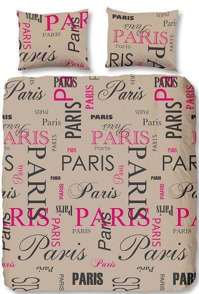 Home Style Dekbedovertrek 3865 Paris khaki