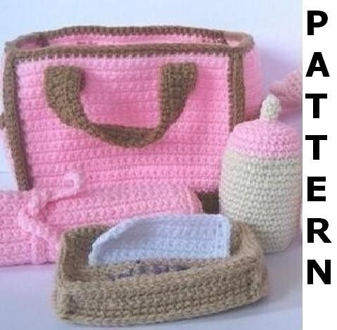 FREE CROCHET DIAPER BAGOnline Crochet Patterns