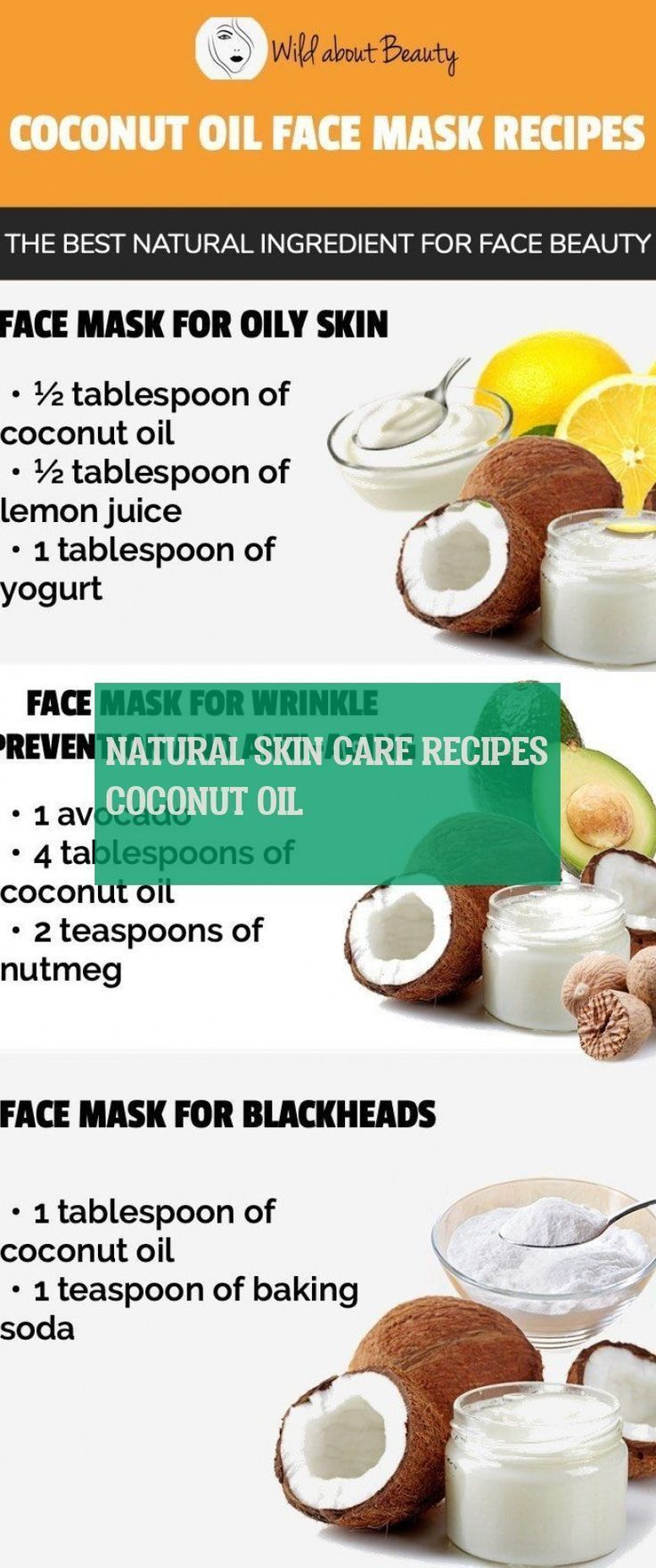 # Skincare Recipes - Natural Skin Care Recipes Coconut Oil & Natural Skin Care ...  -  Hautpflege-Rezepte