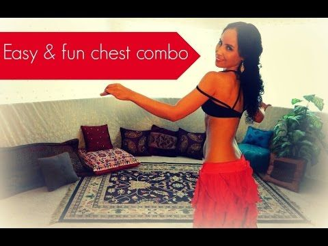 Free belly dance classes: Fun and easy belly dance chest combination