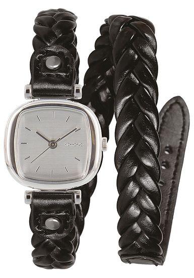 Komono Moneypenny Woven - Horloge voor Dames - Zwart - Planet Sports